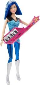 Mattel Barbie Eine Prinzessin im Rockstar Camp - Rayna mit Umhängekeyboard (CKB62)