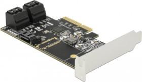 DeLOCK 5x SATA 6Gb/s, PCIe 3.0 x4 (90395)