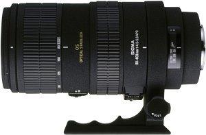 Sigma AF 80-400mm 4.5-5.6 EX APO RF OS für Sigma schwarz (725956)