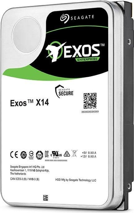 Seagate Exos X X14 12TB, 512e, SAS 12Gb/s (ST12000NM0038)
