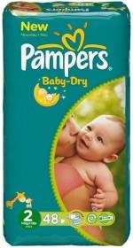 Pampers Baby-Dry Gr.2 Einwegwindel, 3-6kg, 192 Stück (4x 48 Stück)