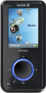 SanDisk Sansa e280 8GB (SDMX4-8192) -- © SanDisk