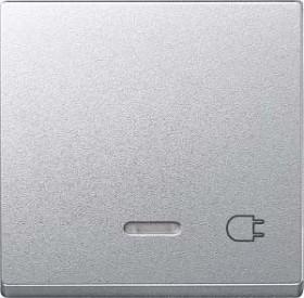 Merten System M Wippe Thermoplast edelmatt, aluminium (431760)
