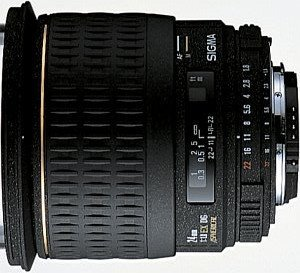 Sigma AF 24mm 1.8 EX DG Asp Makro für Canon EF schwarz (432927)