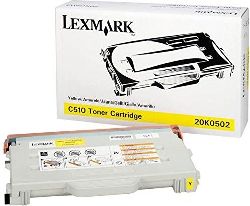 Lexmark 20K0502 toner żółty -- via Amazon Partnerprogramm