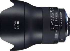 Zeiss ZF.2 Milvus 18mm 2.8 für Nikon F schwarz (2096-516)