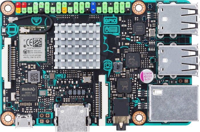 ASUS Tinker Board, 2GB (90MB0QY1-M0EAY0)