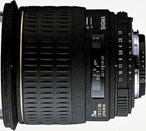 Sigma AF 28mm 1.8 EX DG Asp macro for Canon EF black (440927)