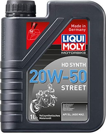 liqui moly motorbike hd synth 20w 50 street 4l 3817 ab. Black Bedroom Furniture Sets. Home Design Ideas