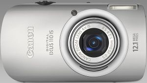 Canon Digital Ixus 110 IS silber (3580B009)