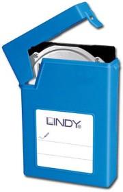 """Lindy 3.5"""" HDD Schutzhülle blau (40686)"""
