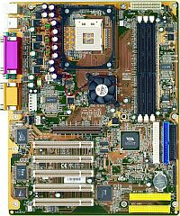 Shuttle AV45GT, P4X266 (DDR)