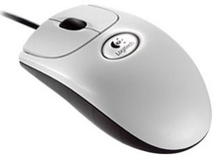 Logitech OEM B58 Premium Optical Wheel Mouse weiß, PS/2 & USB (930994-1600)