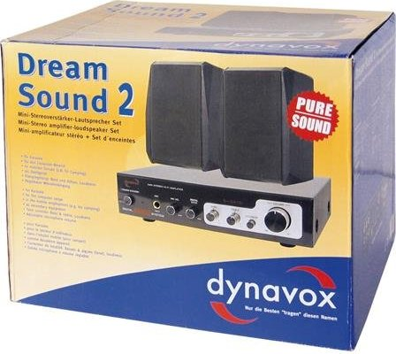 Dynavox Dream Sound Set 2 schwarz (204487) -- via Amazon Partnerprogramm