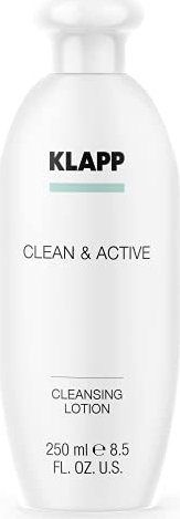 Klapp Clean & Active Cleansing lotion cleansing lotion, 250ml