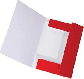Falken Dreiflügelmappe LongLife A4, rot (15061880000)