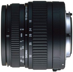 Sigma set AF 18-50mm 3.5-5.6 DC and AF 55-200mm 4.0-5.6 DC for Pentax K black (V9945)