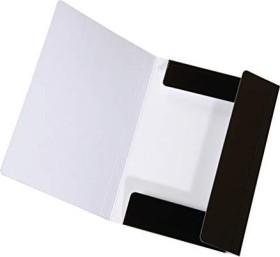 Falken Dreiflügelmappe LongLife A4, schwarz (15061900000)
