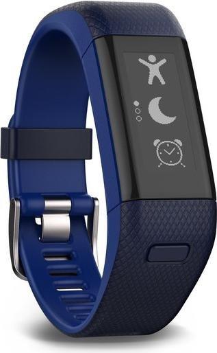 Garmin vivosmart HR+ Aktivitäts-Tracker blau (010-01955-32)