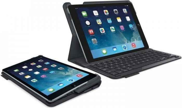 Logitech Type+ für iPad Air, schwarz, UK (920-006547)