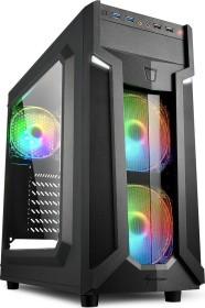 Sharkoon VG6-W RGB, Acrylfenster