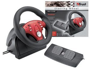 Trust GM-3100R Steering Wheel, USB (PC) (13153)