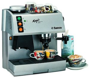 Saeco Magic Cappuccino Combi