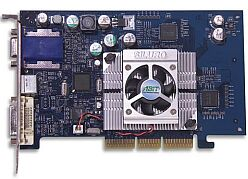 ABIT Siluro GF4MX PRO, GeForce4 MX460, 64MB DDR, DVI, TV-out, AGP