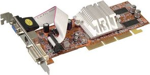 ABIT Radeon 9200SE, 128MB DDR, DVI, TV-out, AGP