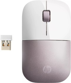 HP Z3700 Wireless Mouse Tranquil Pink weiß/rosa, USB (4VY82AA#ABB)