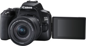 Canon EOS 250D black with lens EF-S 18-55mm 4.0-5.6 IS STM (3454C002)