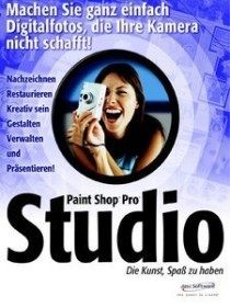 Corel/Jasc Paint Shop Pro Studio (English) (PC) (PST10ERVP)
