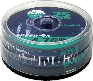 BestMedia Platinum DVD+RW 4.7GB 4x, 25er Spindel (100603)