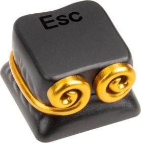 Zomoplus Aluminium Keycap WUKONG, ESC-Taste, schwarz/gold (769129158367)