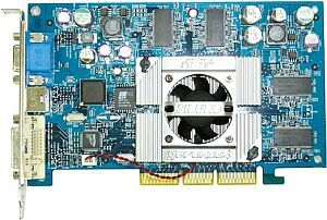ABIT Siluro GF4TI4200, GeForce4 Ti4200, 128MB DDR, DVI, TV-out, AGP
