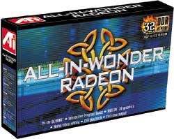 ATI All-In-Wonder Radeon 32MB DDR AGP, retail