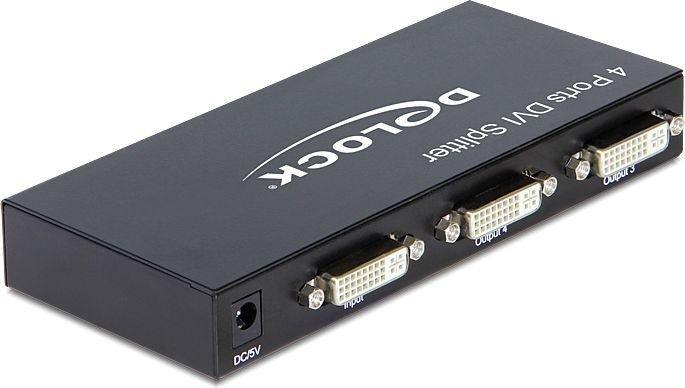 DeLOCK DVI splitter 4-port (87640)
