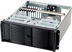 Fantec TCG-4860KX black, 4U
