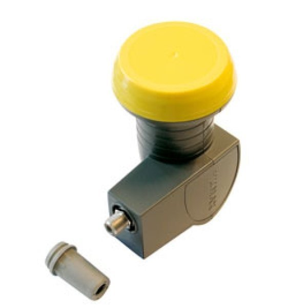 Humax LNB 112 grey/yellow -- © My-Solution.de