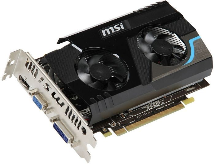 MSI R6570-MD2GD3, Radeon HD 6570, 2GB DDR3, VGA, DVI, HDMI (V250-057R)