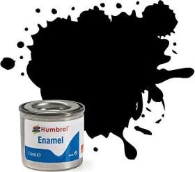 Humbrol Enamel Paint 33 black matt, 14ml (AA0360)