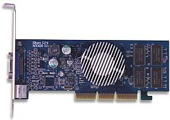 ABIT Siluro GF4MX-SD, GeForce4 MX420, 64MB (SDR), TV-out, AGP
