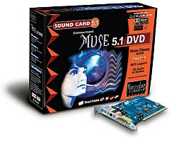 Guillemot Hercules Gamesurround Muse 5.1 DVD retail, PCI (4780204)
