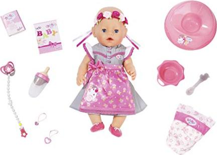 Zapf Creation Baby Born Puppe Soft Touch Dirndl Edition 827451
