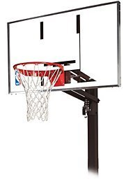 Spalding NBA Gold In-Ground basketball stand (3001651020754)