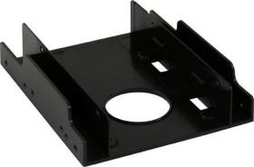 "LC-Power 3.5"" HDD/SSD Adapter, 2x 2.5"", Einbaurahmen (LC-ADA-35-225)"