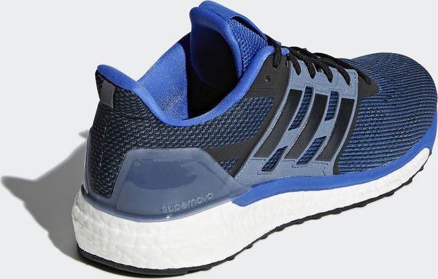 adidas Supernova blue hi-res red core black raw steel (men) (CG4020)  starting from £ 79.05 (2019)  886e6cc55