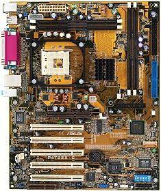 ASUS P4T533-C, i850E (RDRAM)