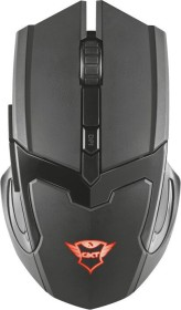 Trust Gaming GXT 103 Gav Wireless Optical Gaming Mouse schwarz matt, USB (23213)
