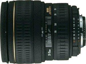Sigma AF 28-70mm 2.8 EX Asp IF for Canon EF black